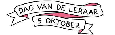 Dag van de leraar (zaterdag 5 oktober)