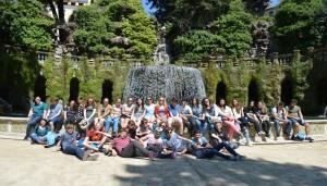 2015 Uitwisseling Frankrijk Bezoek aan Tivoli